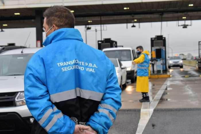 Se incrementan los controles de tránsito en la provincia.